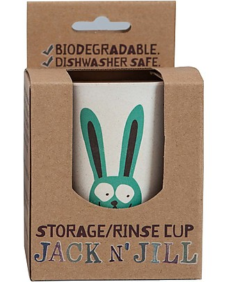 Jack 'n Jill Rinse or Storage Cup, Bunny Toothpaste and Toothbrush