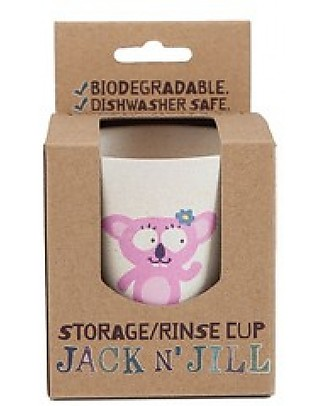 Jack 'n Jill Rinse or Storage Cup, Koala Toothpaste and Toothbrush
