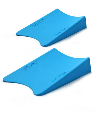 Jamm Jamm Doorstop - Pacific Blue - World Leading Patented Safety Design - Twin Pack Door Jams
