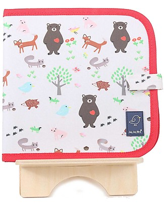Jaq Jaq Bird Chalk-A-Doodle Book - Jaq Jaq Bird Colouring Activities
