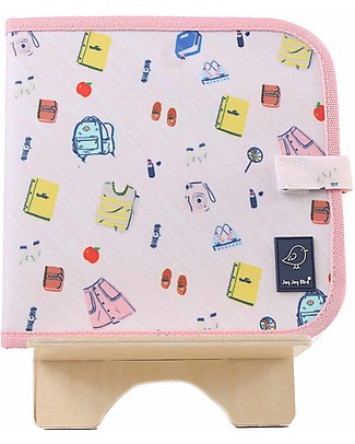 Jaq Jaq Bird Chalk-A-Doodle Book - Purse Travel Games