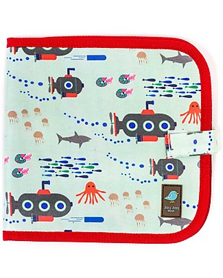 Jaq Jaq Bird Chalk-A-Doodle Book - Submarine Colouring Activities