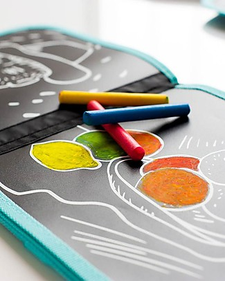 Jaq Jaq Bird Chalk-Color-It - Van Gogh Colouring Activities