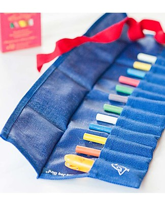 Jaq Jaq Bird Color Belt, Banderia - Blue Colouring Activities