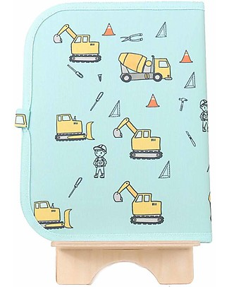 "Jaq Jaq Bird Doodle Mat 2in1 ""Draw and Eat"", Construction - Includes 4 Butterstix Colouring Activities"