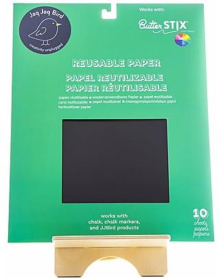 Jaq Jaq Bird Reusable Chalk Paper - 10 Sheets Creative Toys