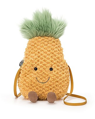 JellyCat Amuseable Pineapple Girl Bag - Super fun and useful! Messenger Bags