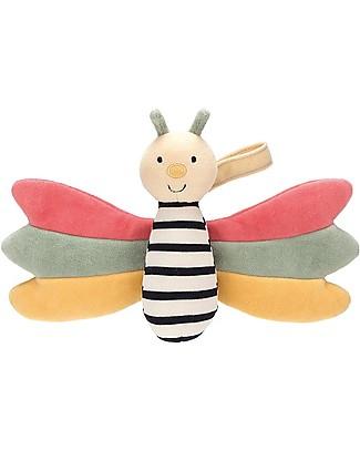 JellyCat Baby Soft Toy Doodlebug Butterfly Soft Toys