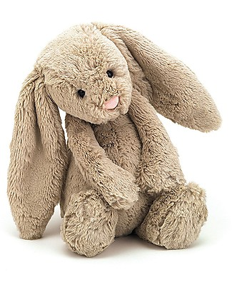 JellyCat Bashful Bunny Soft Toy, Beige (Medium) - 31 cm - Cute and funny Soft Toys