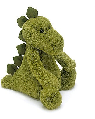 JellyCat Bashful Dino Soft Toy - 31 cm - Cute and funny Soft Toys