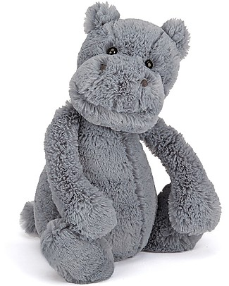 JellyCat Bashful Hippo Soft Toy - 31 cm - Cute and funny null