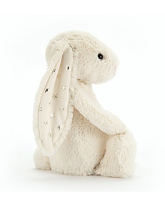 JellyCat Bashful Twinkle Bunny, White (Medium) - 31 cm - Cute and funny Soft Toys