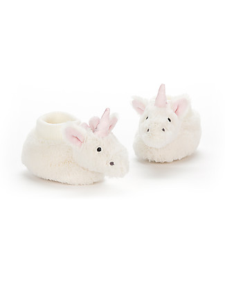 JellyCat Bashful Unicorn Booties 0-6 months - Super soft and warm! Slippers