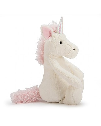 JellyCat Bashful Unicorn Soft Toy - 31 cm - Soft and sweet Soft Toys