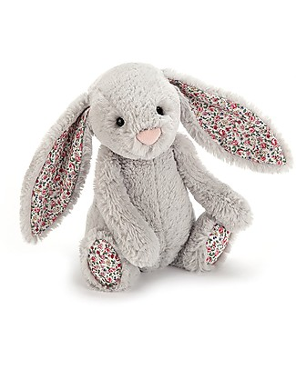 JellyCat Blossom Silver Bunny Soft Toy - 31 cm - Cute and sweet null