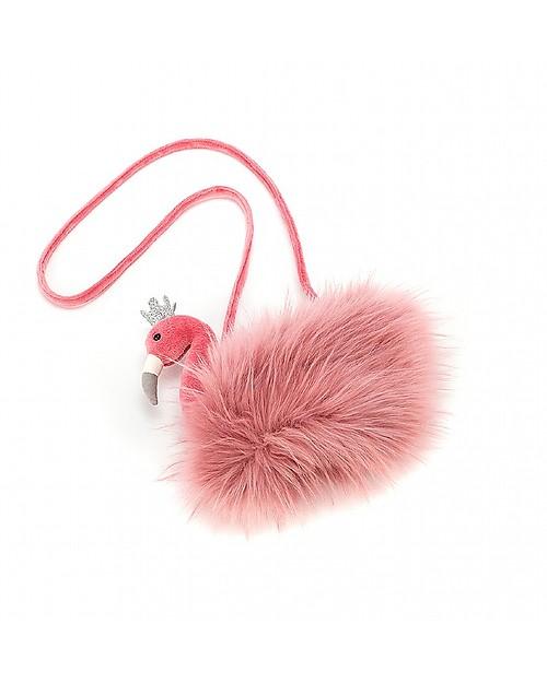 JellyCat Fancy Flamingo Girl Bag - Super fun and useful! Messenger Bags