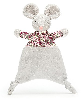 JellyCat Floral Mouse Soother - Super soft baby toy! Soft Toys