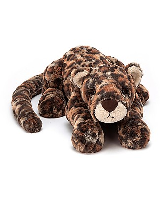 JellyCat Livi Leopard Little Soft Toy - 29 cm - Soft and funny! Soft Toys