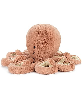 JellyCat Odell Octopus Soft Toy - 49 cm - Cute and funny Soft Toys