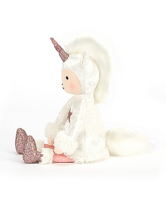 JellyCat Perky Unicorn Moon Soft Toy - 30 cm - Super soft and glamour! Soft Toys