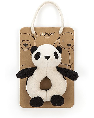 JellyCat Pippet Panda Grabber - Super soft! Teethers