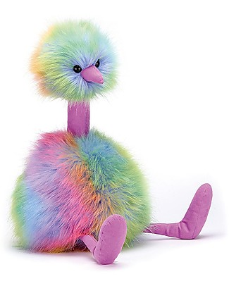 JellyCat Pompom Soft Toy, Rainbow - 33 cm - Cute and funny Soft Toys