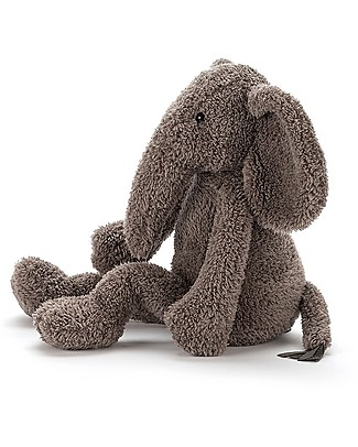 JellyCat Slackajack Elephant Soft Toy - 33  cm - Cute and funny Soft Toys