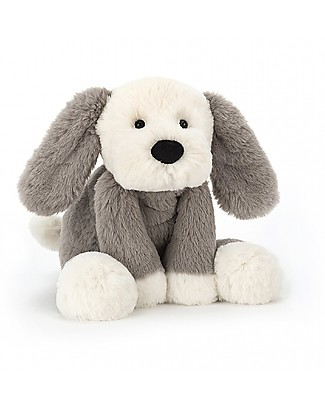 JellyCat Smudge Puppy Soft Toy - 34 cm - Soft and funny! Soft Toys