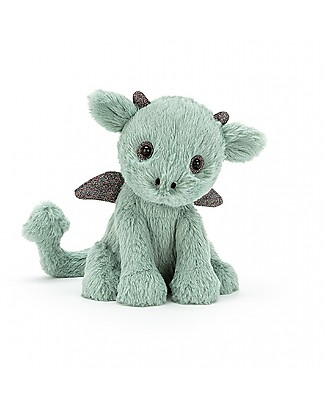 JellyCat Starry-Eyed Dragon Soft Toy - 18 cm - Soft and funny! Soft Toys