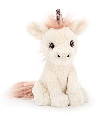 JellyCat Starry-Eyed Unicorn Soft Toy - 18 cm - Soft and funny! Soft Toys
