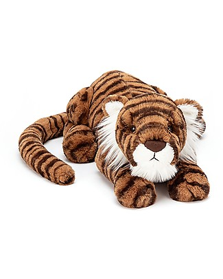 JellyCat Tia Tiger Little Soft Toy - 29 cm - Soft and funny! Soft Toys
