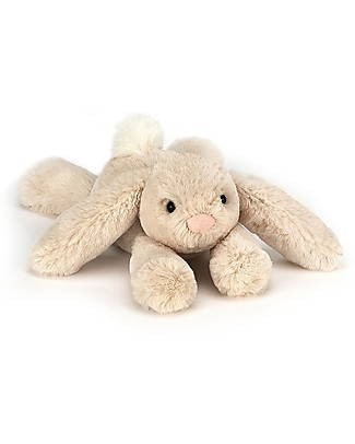 JellyCat Tiny Smudge Rabbit Soft Toy - 19 cm - Soft and funny! Soft Toys