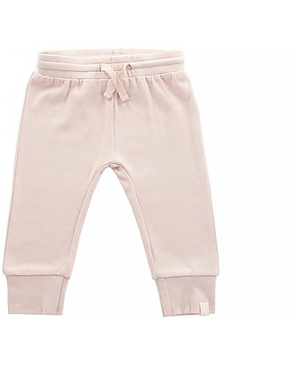Jollein Baby Pants Lama, Blush Pink - Organic Cotton Trousers