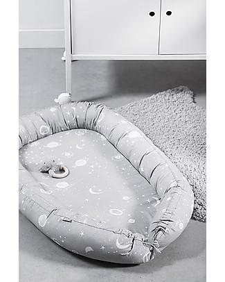 Jollein Babynest Galaxy Grey - 40x70 cm Baby Nest