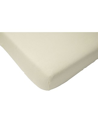 Jollein Fitted Sheet, White -70x140 cm - Cotton Bed Sheets