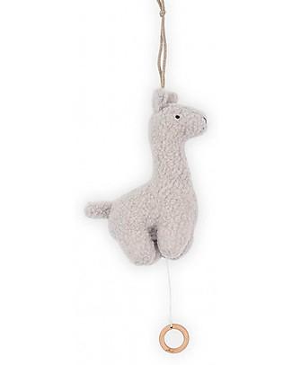 Jollein Musical Hanger Lama, Grey Rattles