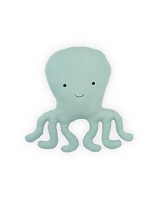 Jollein Pillow Tiny Waffle, Soft Green Octopus Pillows