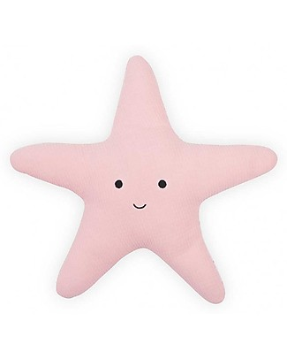 Jollein Pillow Tiny Waffle, Soft Pink Starfish Pillows