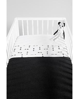 Jollein Sheet Indians Arrow - 120x150 cm - 100% cotton Bed Sheets