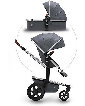 Joolz Day² Studio Travel System, Gris - Pram + Pushchair Travel Systems