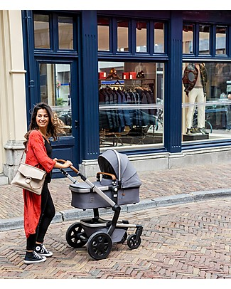 Joolz Day³ Earth Travel System, Hippo Grey - Pram + Pushchair Travel Systems