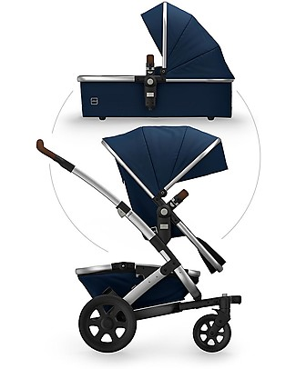 Joolz  Geo² Earth Travel System Pushchair and Pram - Parrot blue Double Pushchairs