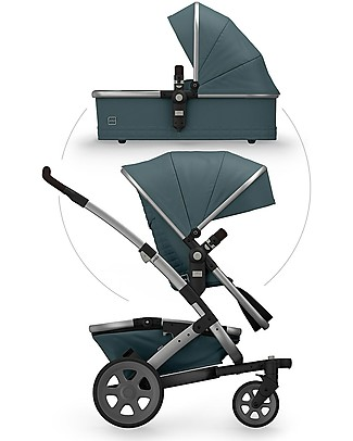 Joolz Geo² Quadro Travel System Pushchair and Pram - Blu Double Pushchairs
