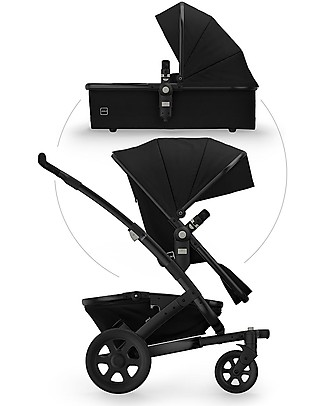 Joolz Geo² Studio Travel System Pushchair and Pram - Noir Double Pushchairs