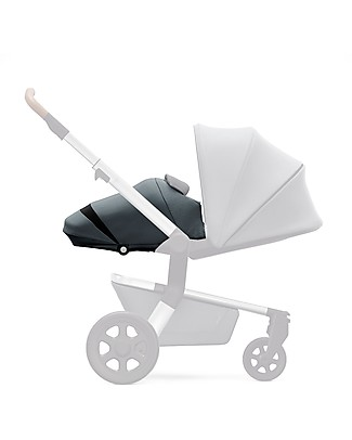 Joolz Hub Earth Light Pram, Hippo Grey Pushchairs