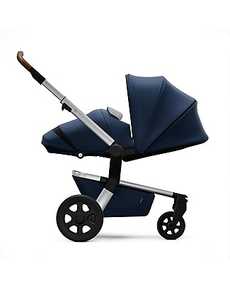 Joolz Hub Earth Light Pram, Parrot Blue Pushchairs