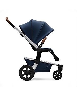 Joolz Hub Earth PushChair with Chassis + Seat, Parrot Blue - Handy and Compact! Pushchairs