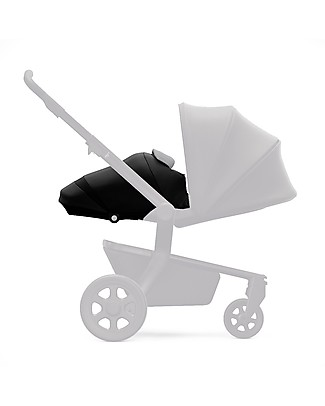 Joolz Hub Quadro Light Pram, Black Pram Systems