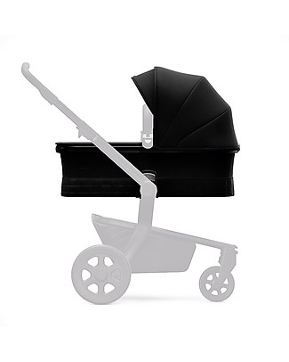 Joolz Hub Quadro Pram, Black - Ergonomic and Spacious! Pram Systems