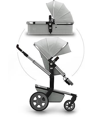 Joolz Joolz Day² Quadro, Grey - Pram + Pushchair Travel Systems